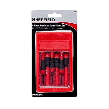 Sheffield Tools 60074 Precision Screwdriver Set 6-Piece