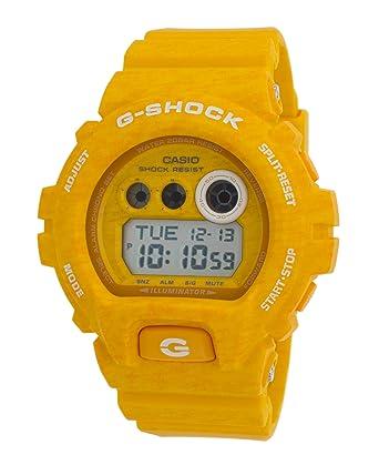 Amazon Com Casio G Shock Men S Gdx6900ht Yellow Watch Watches