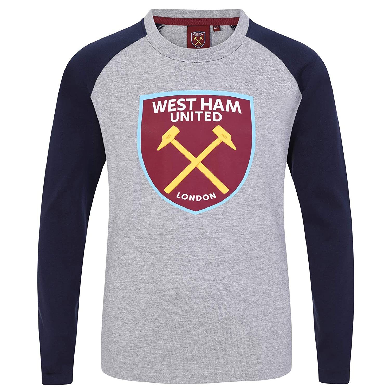 West Ham United FC - Camiseta Oficial con Mangas raglán - para ...