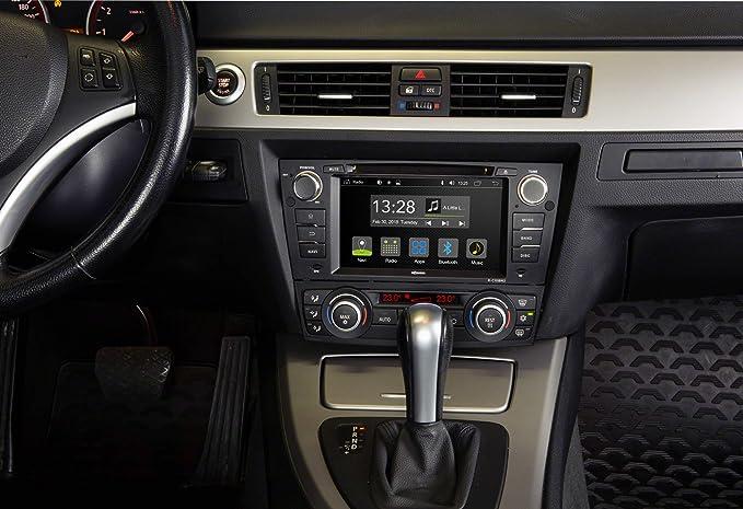 Radical R C10bm2 Mit 7 Touchscreen Infotainment Autoradio Passend Für Bmw E90 Android 7 1 Os Vorbereitet Für Navigation Fm Radio Bluetooth Usb Easyconnect Lenkradfernbedienung Navigation