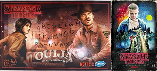 Stranger Things Ouija Game Exclusive VHS Set Season 1 DVD Blu-Ray 4 Disc Box Edition Special 2-pack Bundle: Amazon.es: Cine y Series TV