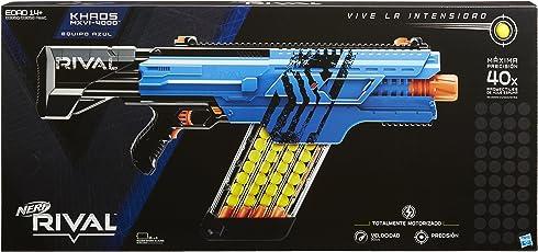 Nerf Lanzador Rival Khaos, color Azul