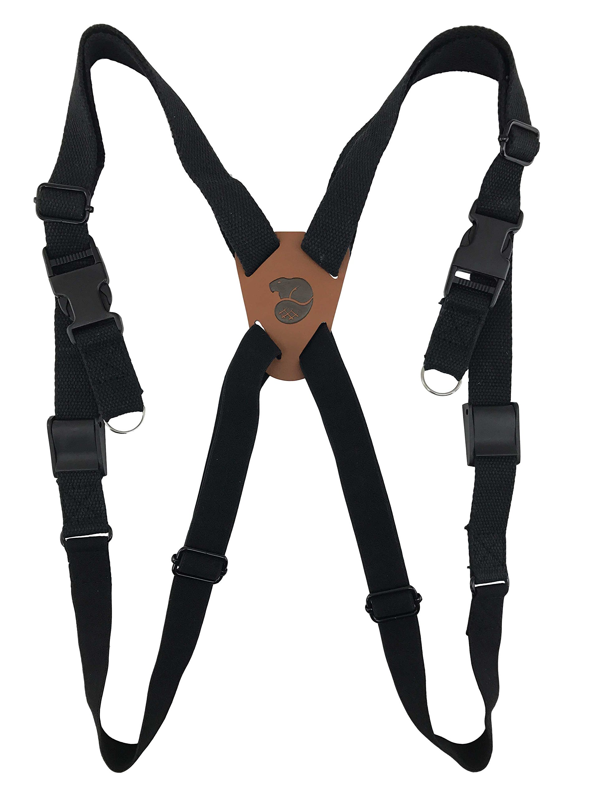 Binocular Shoulder Harness Quick Release Bino Camera Straps by Bever Products