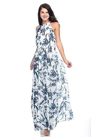 c8834dc3a Milla By Trendyol Maxi Dress For Women - 36, White: Amazon.ae