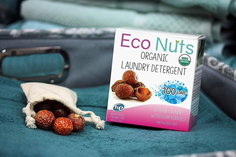 Soap nuts make great zero waste shampoo