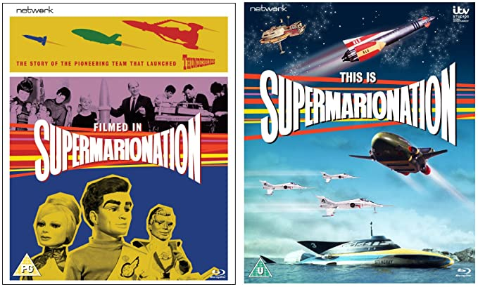 Filmed in Supermarionation / This is Supermarionation [Reino Unido] [Blu-ray]