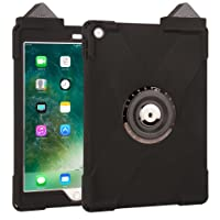 The Joy Factory CWA605 aXtion Bold M Water-Resistant Rugged Shockproof Case with PayPal Here Card Reader Support for iPad 9.7 5th Gen, Black
