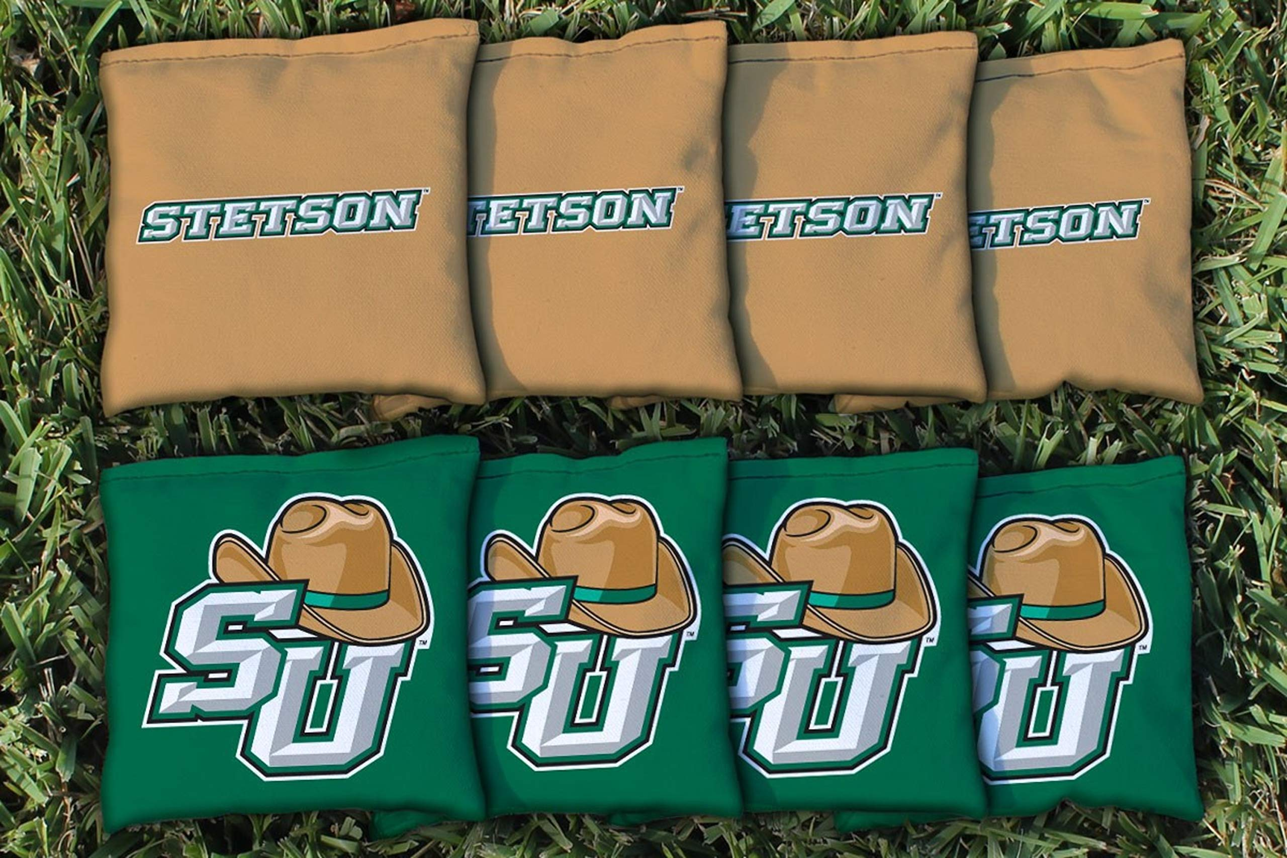 Victory Tailgate NCAA Regulation All Weather Cornhole Game Bag Set - 8 Bags Included - Stetson by Victory Tailgate