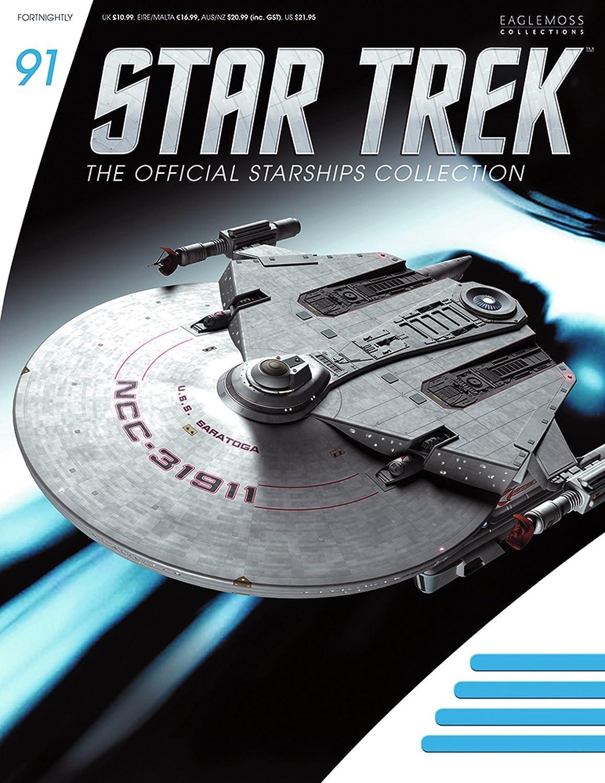 Star Trek Starships Issue 91 USS Saratoga NCC 31911 89 90 Amazoncouk Toys Games