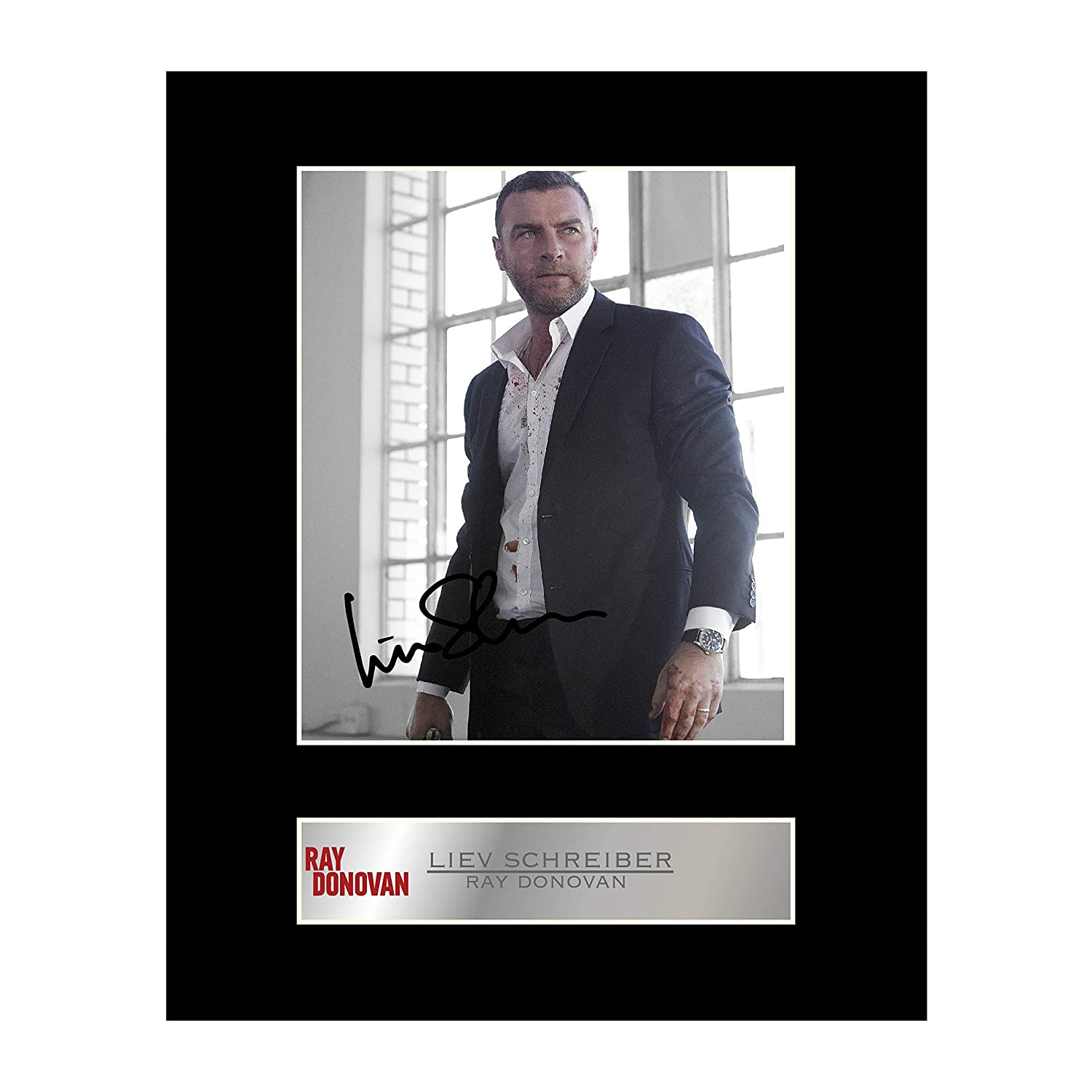 Liev Schreiber, Ray Donovan Signed Mounted Photo Display Ray Donovan #2 Autographed Gift Picture Print Iconic pics