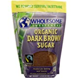 Wholesome Sweeteners, Inc., Organic Dark Brown Sugar, 24 oz (681 g) Wholesome Sweeteners, Inc., Organic Dark Brown Sugar, 24 oz (681 g) - 2pcs