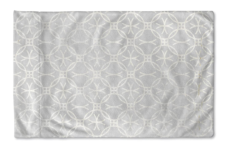 TELAVC8007PC42 Size: 40X20X1 - - Encompass Collection KAVKA Designs Matera Pillow Case, Grey