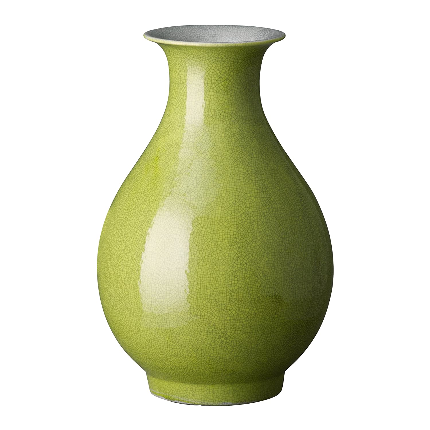 Emissary Home /& Garden PE PA VASE Chartreuse 14 H