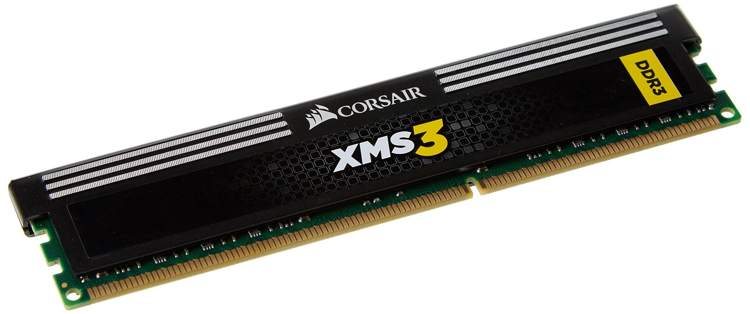 Memoria RAM 4GB Corsair CMX4GX3M1A1333C9 XMS3 1333MHz PC3-10666 240-pin DDR3 Kit para Core i3 i5 i7-1.5V
