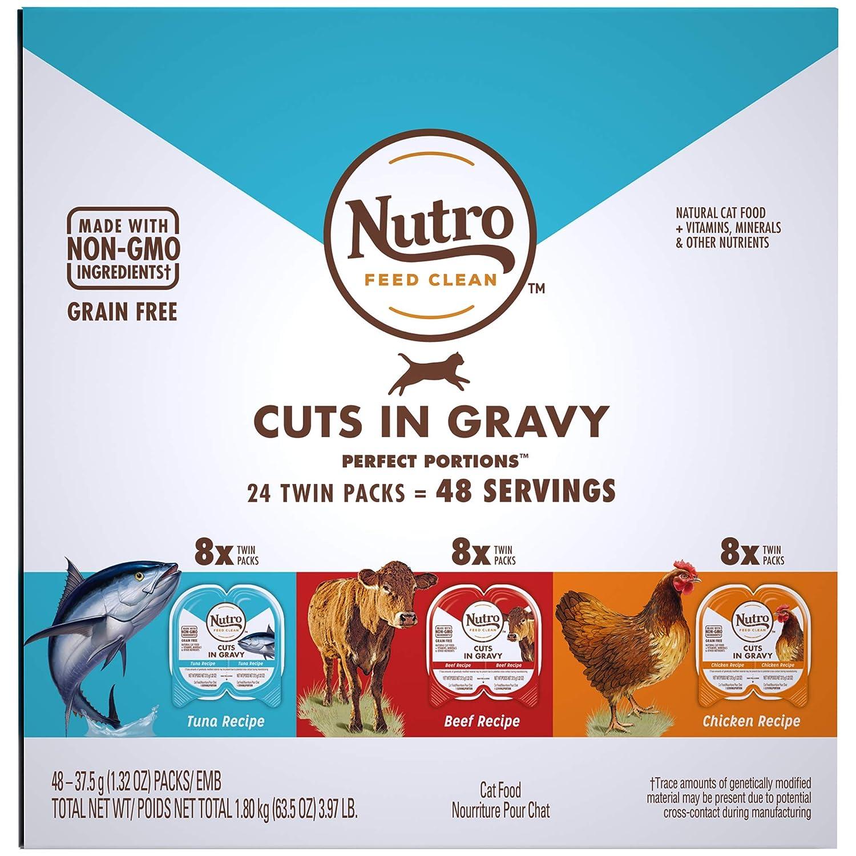 Amazon.com: Nutro Perfect Portions - Cortes sin granos para ...