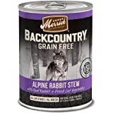 Merrick Backcountry Grain Free Wet Dog Food, 12.7 oz, 12 count