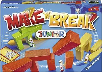 Ravensburger 22009 Make n Break Junior - Juego de Mesa para niños: Lawson, Andrew und Jack: Amazon.es: Juguetes y juegos
