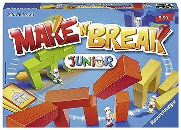 Ravensburger 22009 Make N Break Junior Juego De Mesa Para Ninos