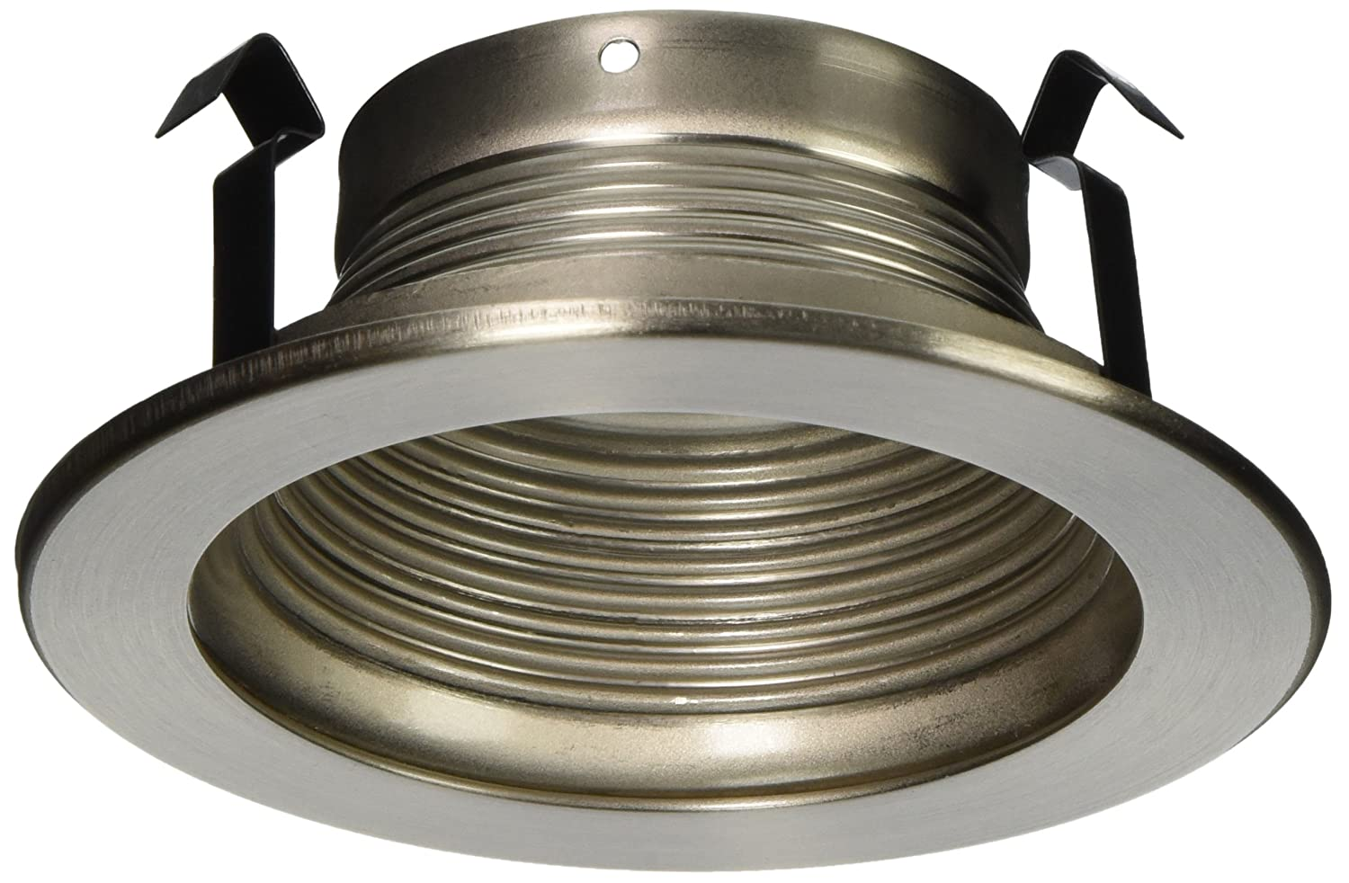 Baffle trim recessed light fixture trim for use with 4 recessed lights brushed nickel amazon com