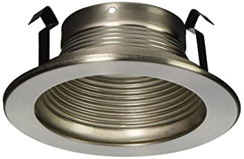 Baffle trim recessed light fixture trim for use with 4 recessed baffle trim recessed light fixture trim for use with 4quot recessed lights brushed mozeypictures Gallery