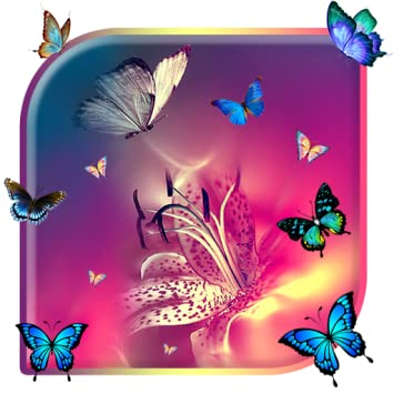 Amazoncom Butterfly Colorful Live Wallpaper Free