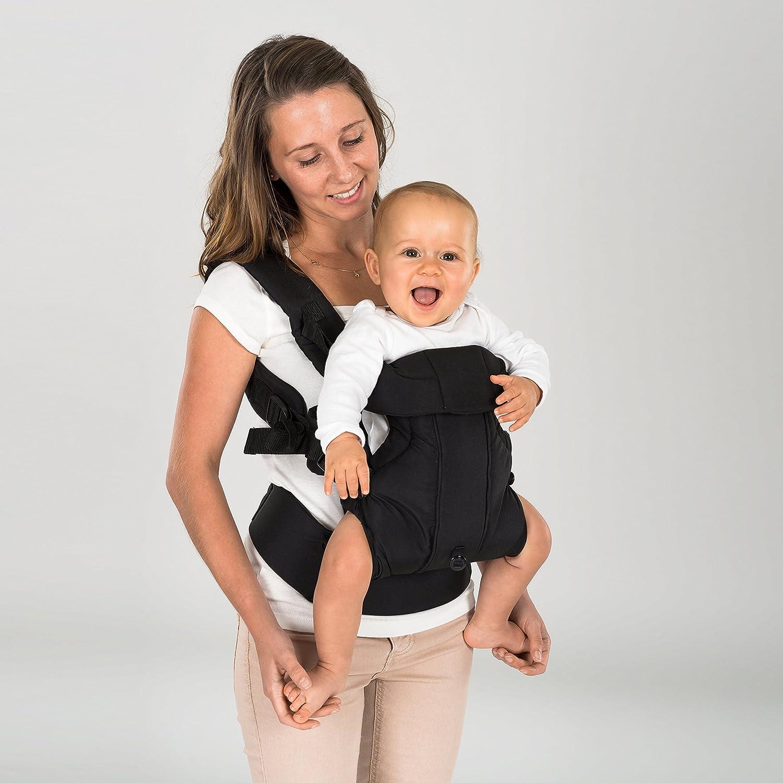 para reci/én nacidos y beb/és. M/últiples posiciones 3,5-15 kg Mochila portabeb/és ergon/ómica 4 en 1 ajustable Fillikid crece con el ni/ño