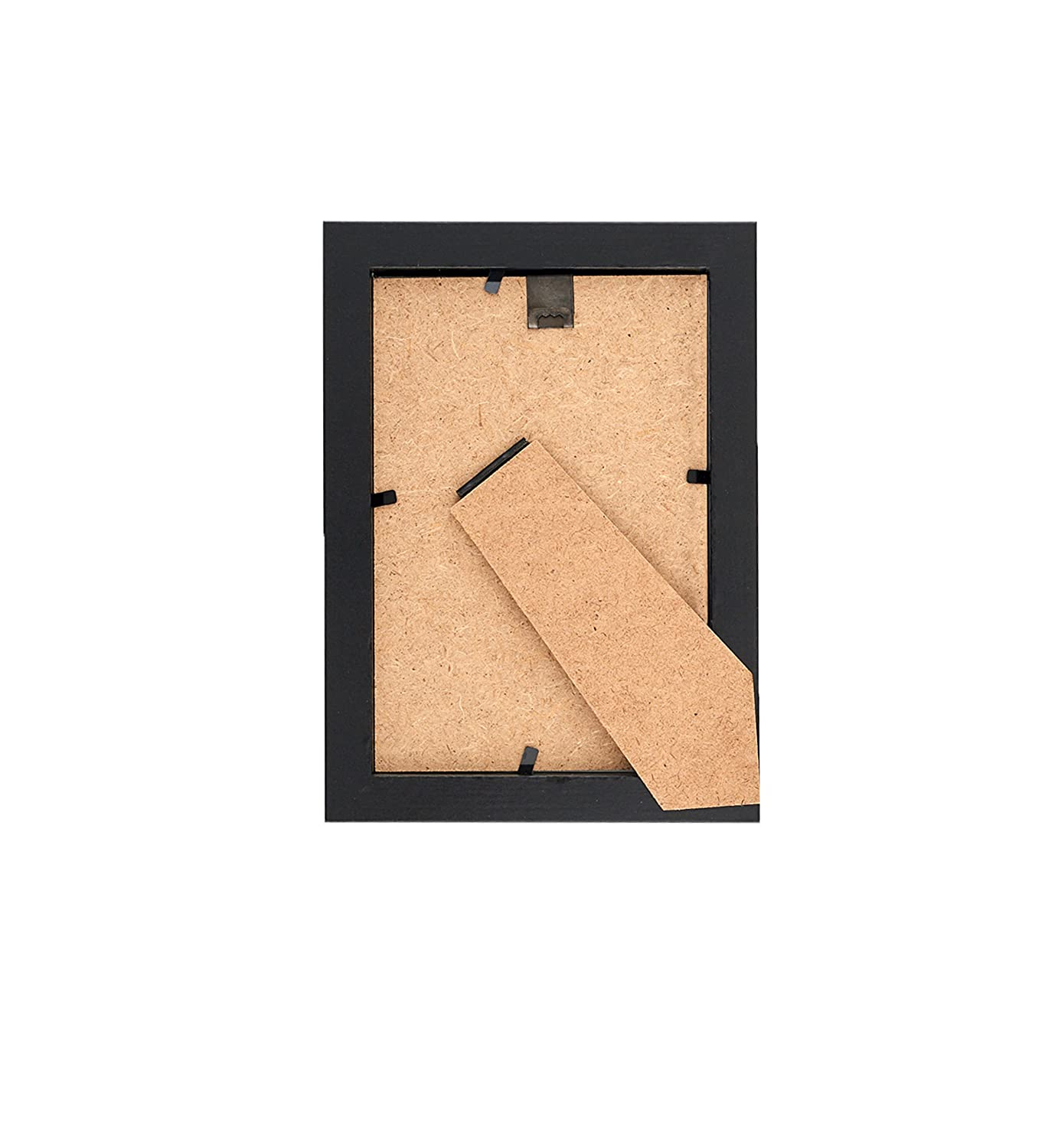 Amazon.com - MDF Wood Picture Frames 4x6 Display with PVC Lens ...