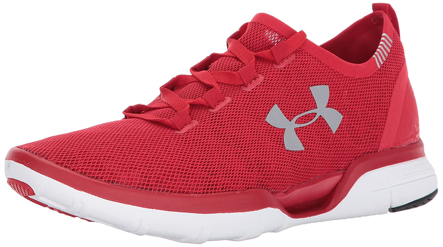 Under Armour Men's Charged CoolSwitch Running Shoe B01NCEMPC1 12.5 M US|Red (600)/White