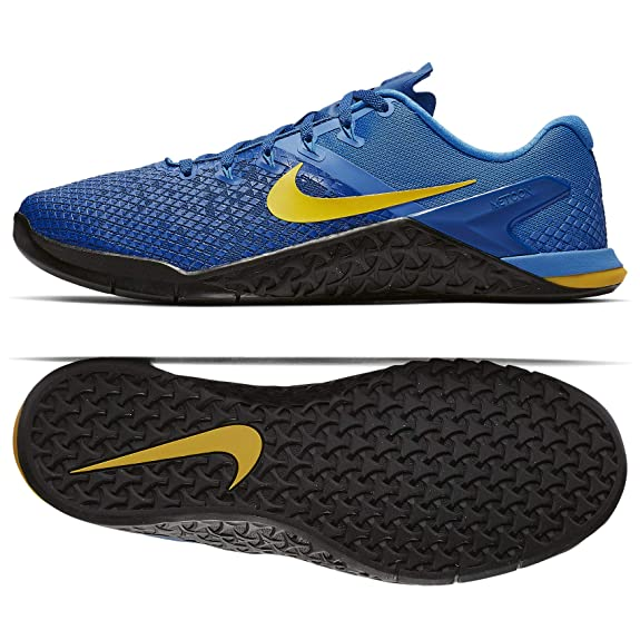 Nike Metcon 4 XD Men's Training Shoe Team Royal/Amarillo-LT Photo Blue-Black 7.0