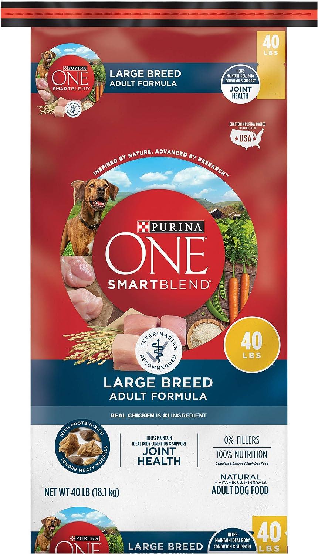 11. Purina ONE SmartBlend Natural Large Breed Formula