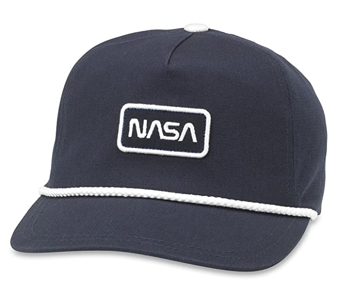 068ef56175a Image Unavailable. Image not available for. Color  American Needle NASA  Cappy Adjustable Snapback Hat - Navy
