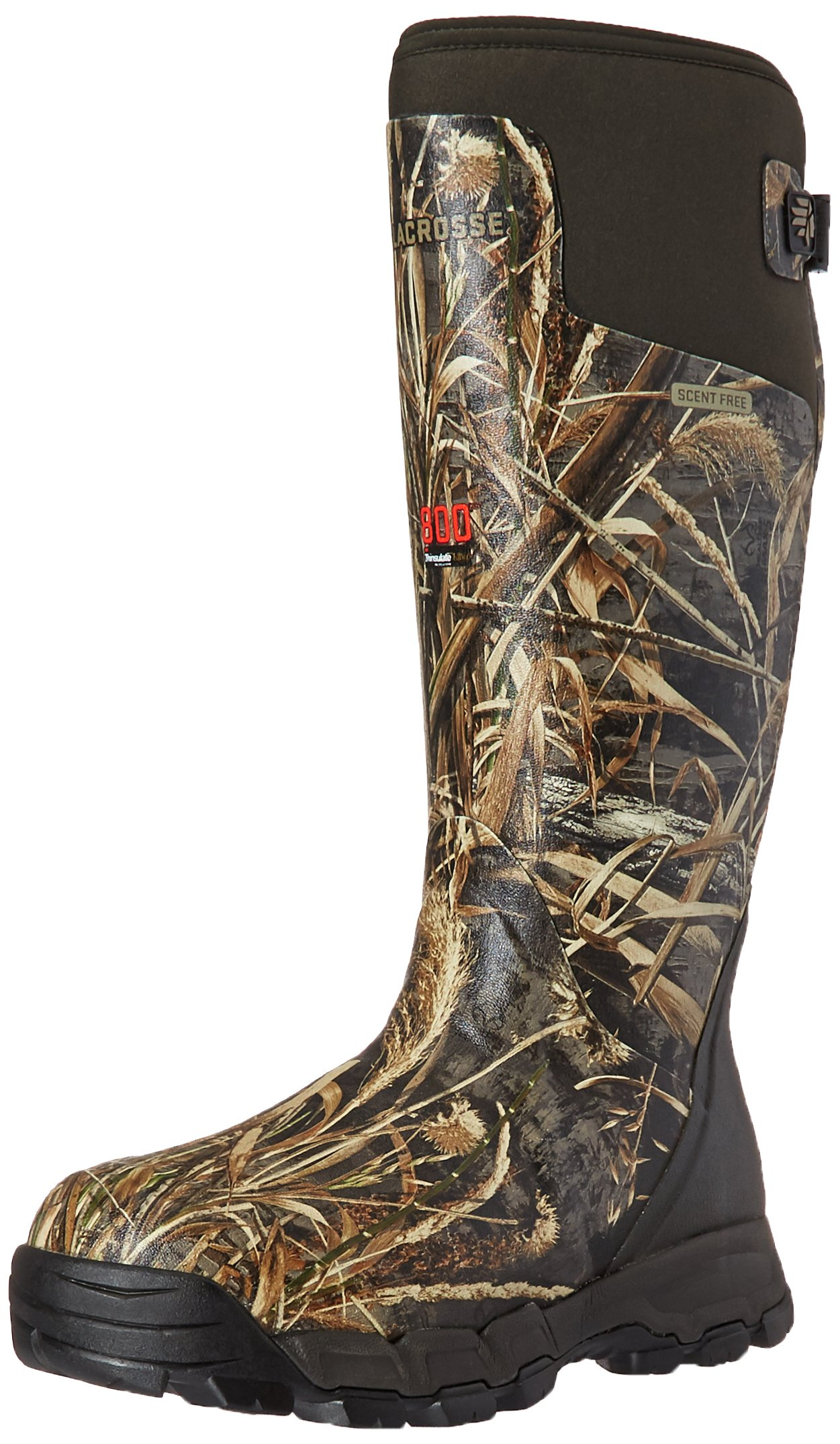 Lacrosse Men's Alphaburly Pro 18'' 800G Hunting Shoes, Realtree Max-4, 15 M US by Lacrosse