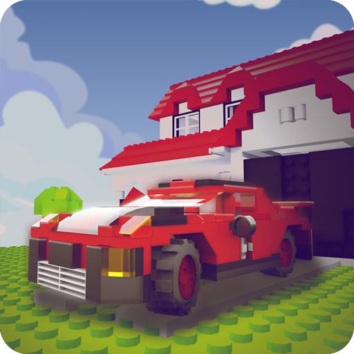 Batman Car Games - Block Town Parking