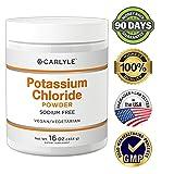 Carlyle Potassium Chloride Powder | 16 oz