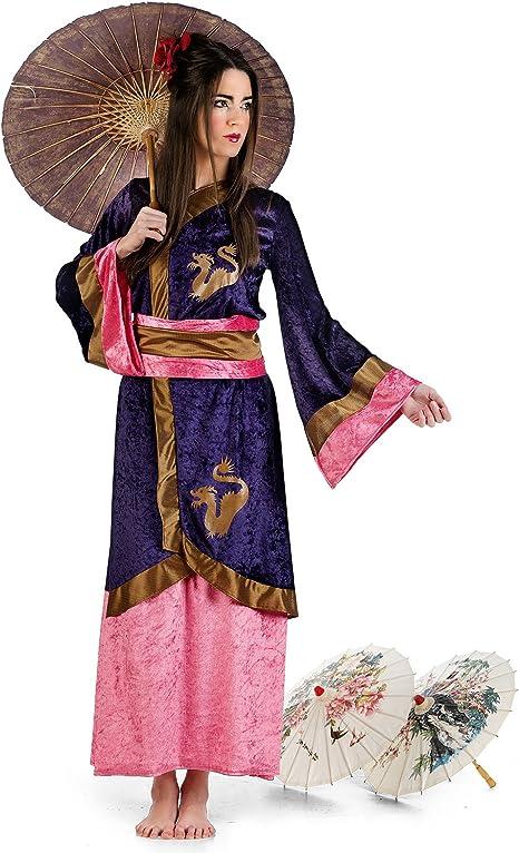 Kimono de geisha y disfraz de mujer japonesa-kimono para y para el ...