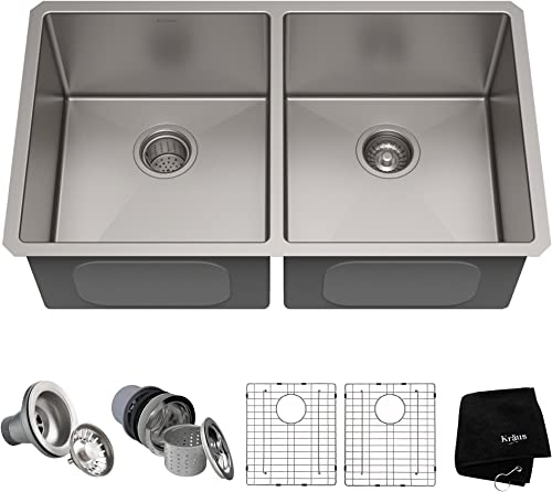 Kraus Standart KHU102-33 Stainless Steel Kitchen Sink