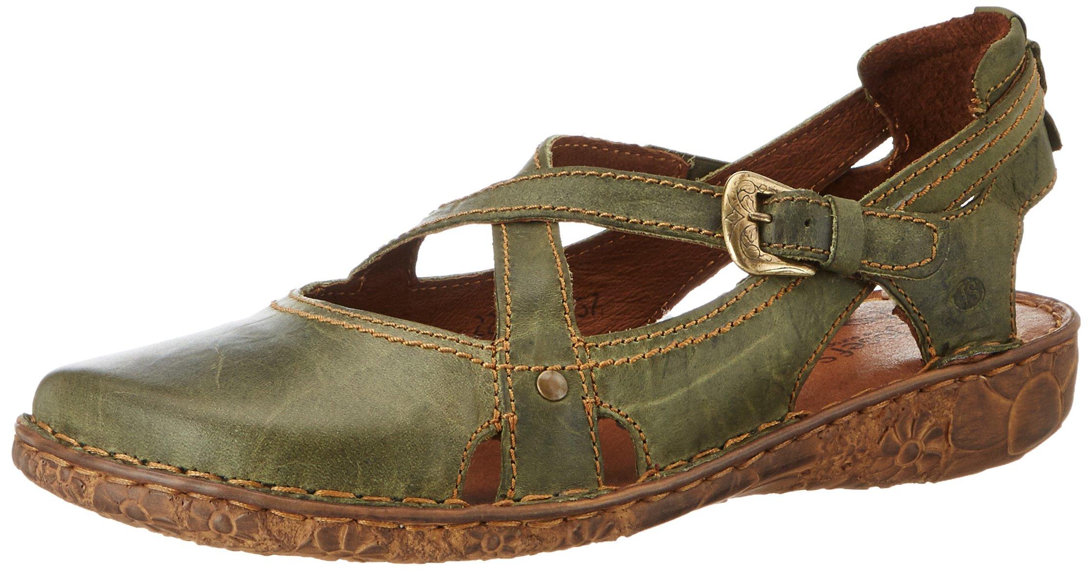 Josef Seibel Rosalie 13 - oliv (Green) Womens Shoes 9 US