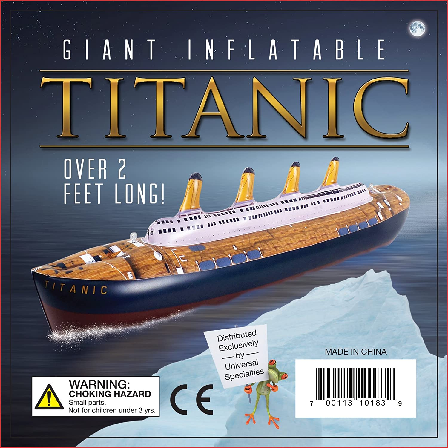 Amazoncom Giant Titanic Inflatable Pool Toy By Universal - Toy cruise ships for sale