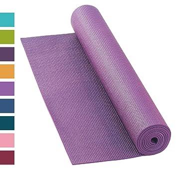 Esterilla de yoga Asana Mat, antideslizante, 183 x 60 cm ...