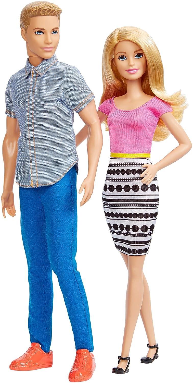 Barbie and Ken Doll 2 Pack Mattel DLH76