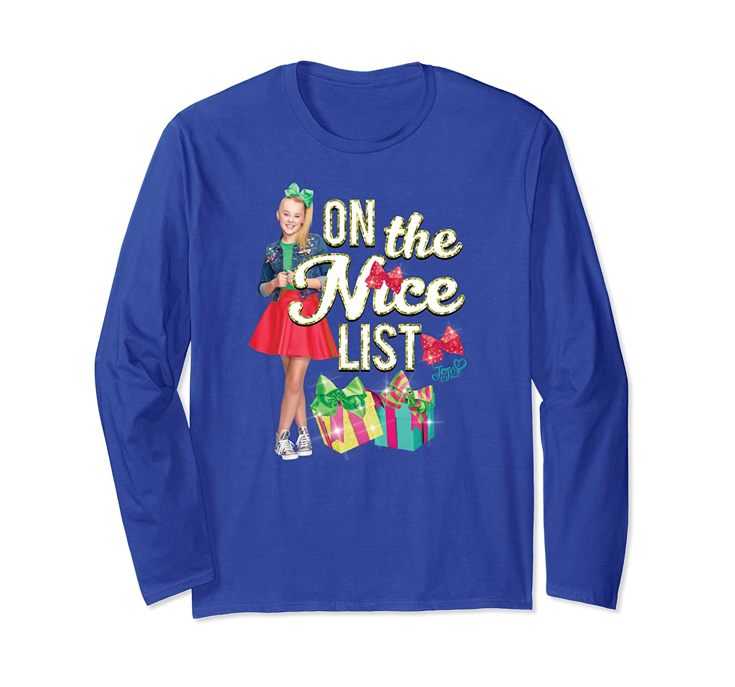 Nickelodeon Nice List Jojo Long Sleeve Long sleeve T-shirt-mt