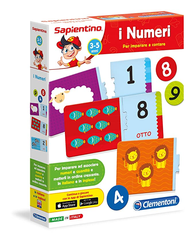150 opinioni per Clementoni 12895- Sapientino Tessere Illustrate I Numeri