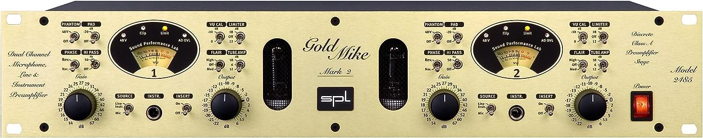 Mic//Line Amp GoldMike MKII 2 Ch