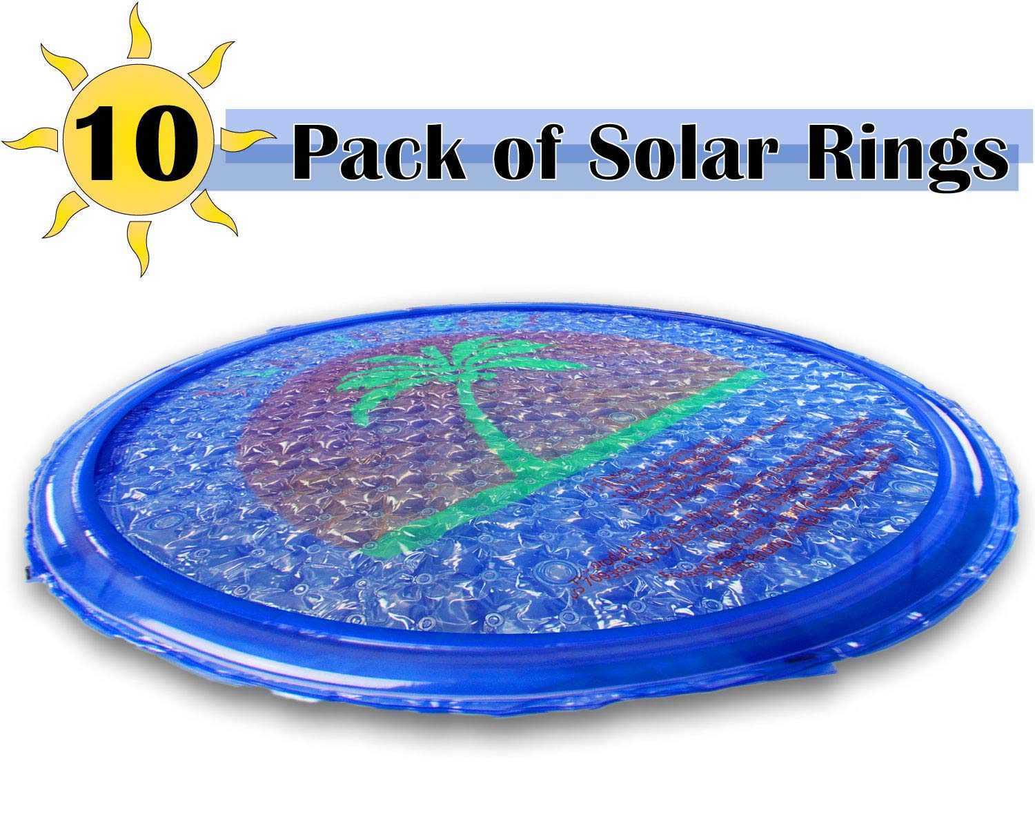 10' Solar Ring Pool Cover