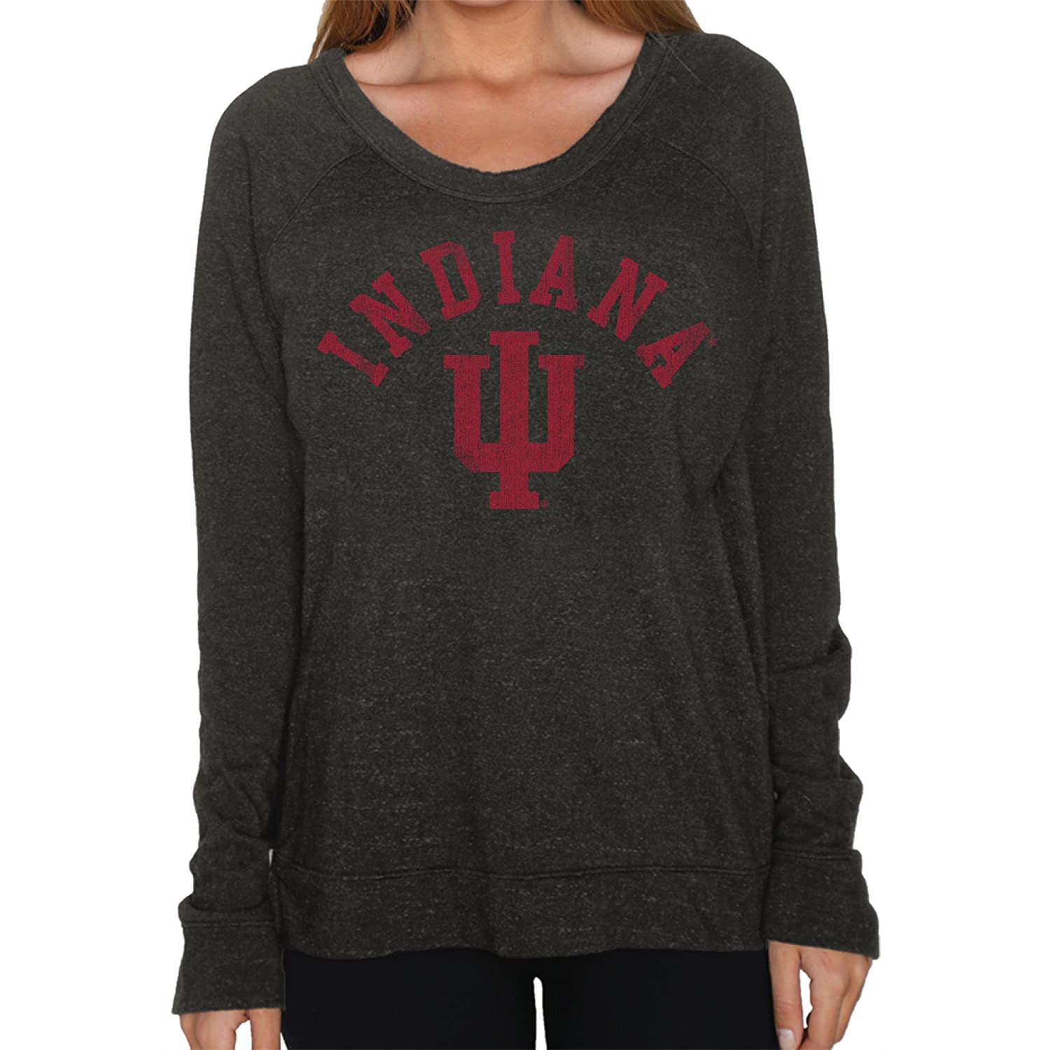 NCAA Womens Long Sleeve Quad Fleece Shirt