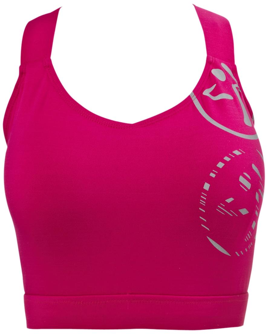 Zumba–Fade Shelf Tank Top, Color Rosa, tamaño Medium