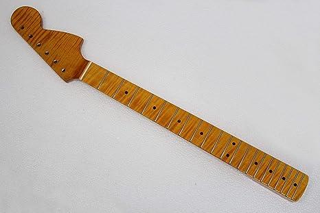 Nueva marca de llama eléctrica arce st guitarra cuello: Amazon.es ...