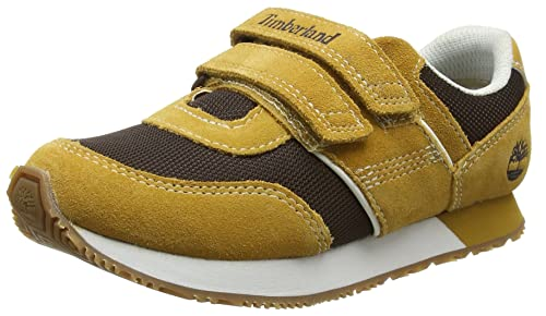 Timberland City Scamper, Oxford para Niños, Marrón (Wheat), 34 EU