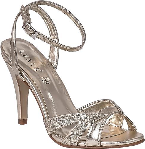 LEXUS Ladies High Heel Sandals Stiletto