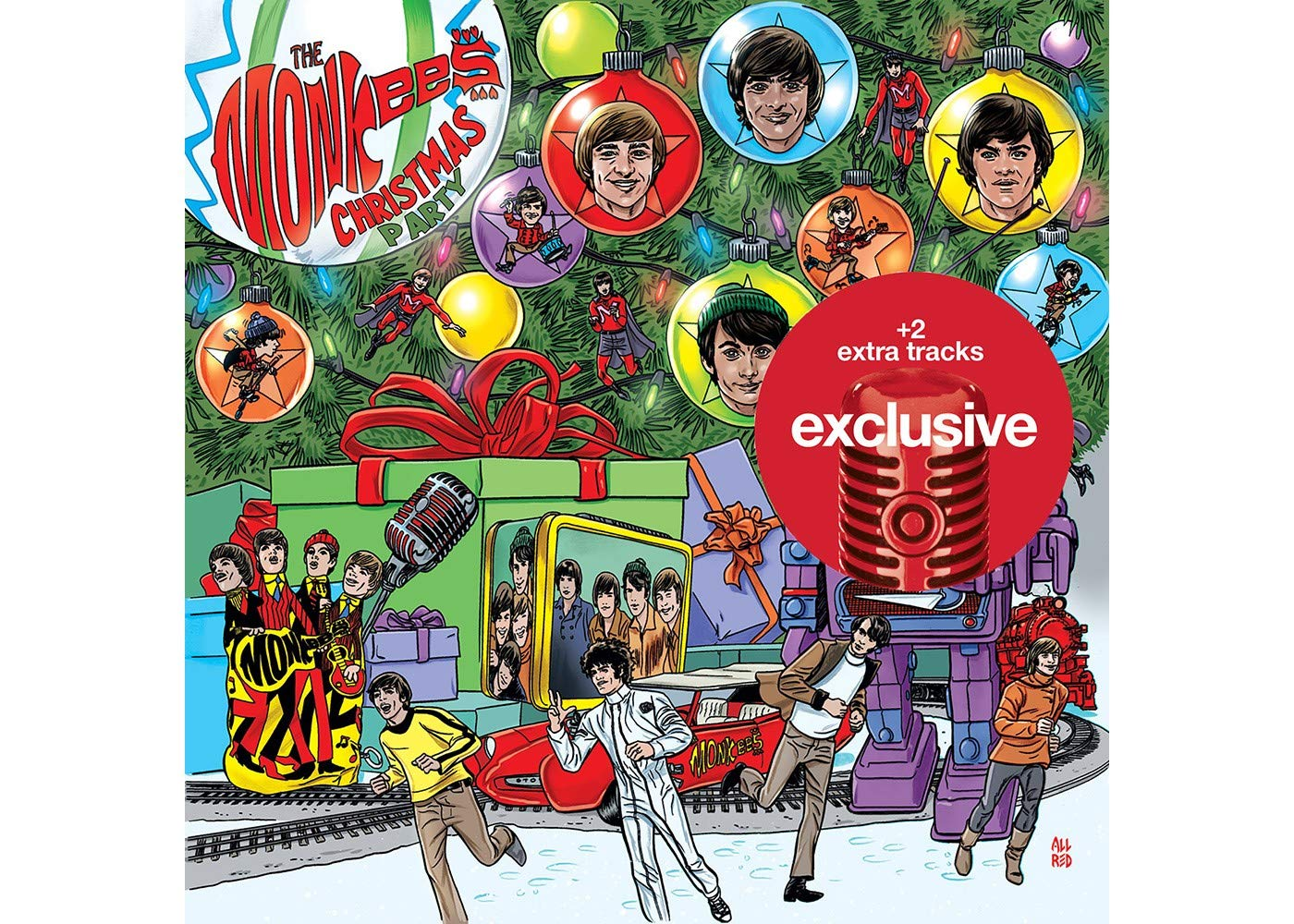 Monkees Christmas Party.The Monkees Christmas Party Target Exclusive 2 Extra Tracks